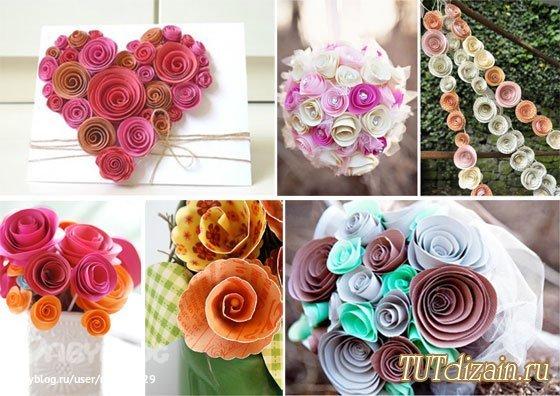 Как сделать цветы для декора своими