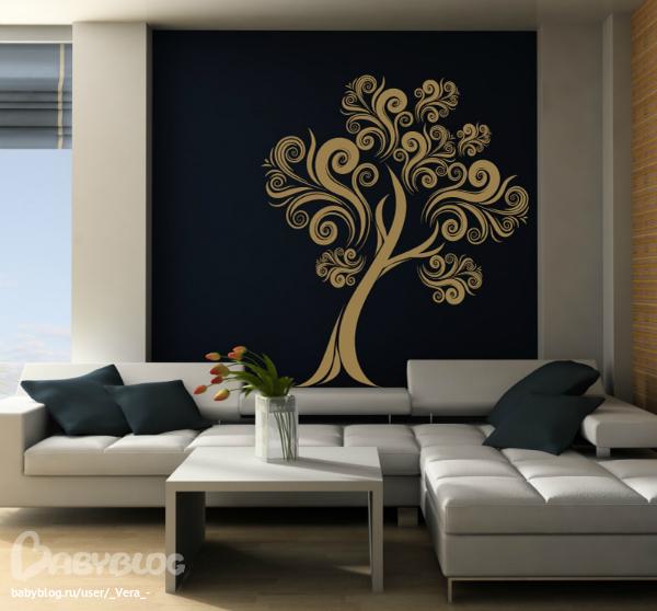 Дизайн трафаретов для комнаты