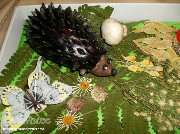 Поделки из листьев и перца