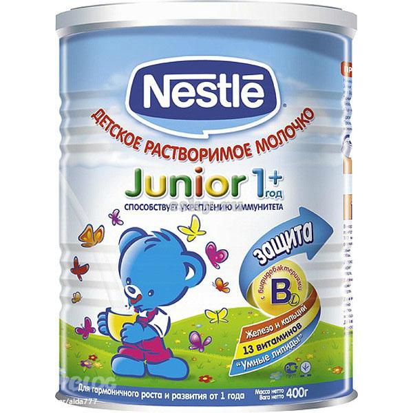 Детская сухая смесь Nestle Молочко с бифидобактериями Джуниор 2, 400 гр. Маркет на market.gotovim-doma.ru.