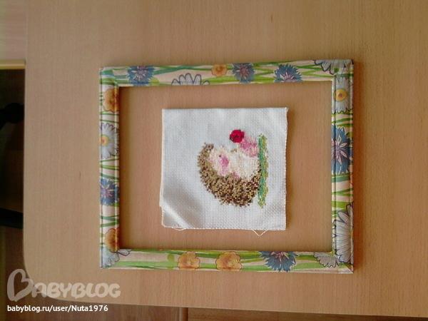 Рамки для фото из салфеток своими руками