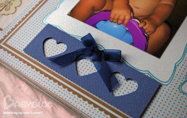 Альбом для фото для новорожденных своими руками