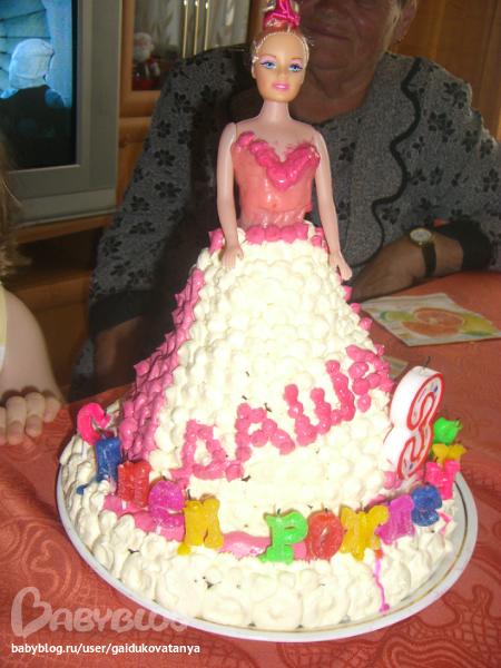 Тортики ко дню рождения своими руками   Торт украшенный мастикой очень необычно оформить 184