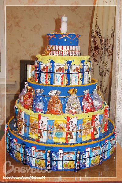 Как сделать торт ребенку на день рожденье