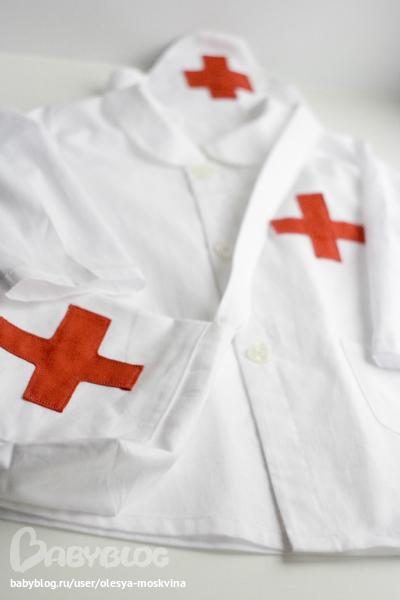 Сшить детский костюм медсестры своими руками 5