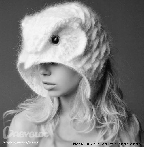 шапка сова