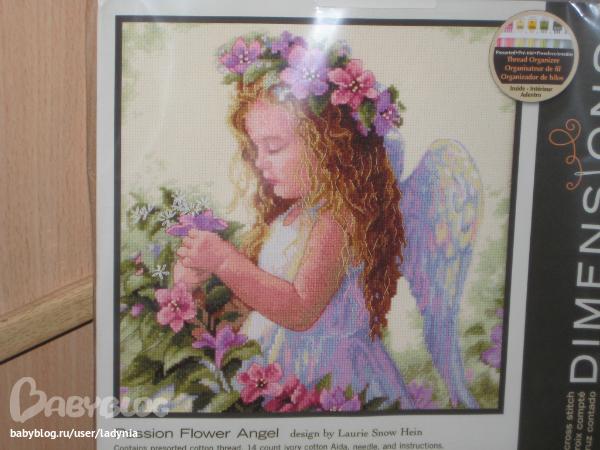 Цветочный ангел. цена 740р под