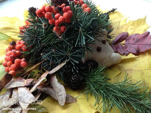 Осенние композиции своими руками в детский сад