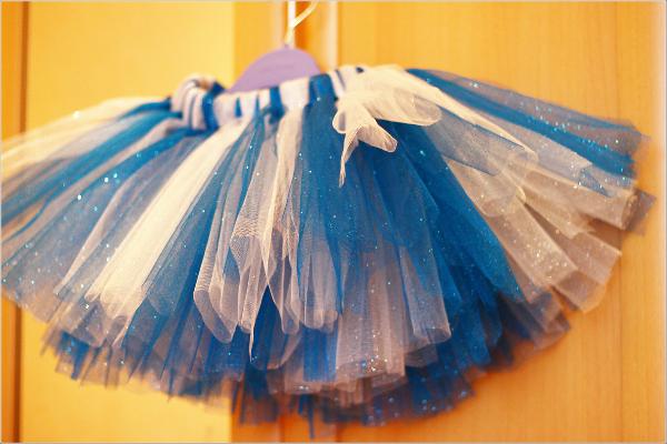 Как сделать красивую юбку из сетки