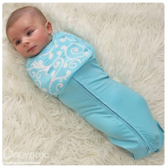 Подгузник для новорожденного своими руками