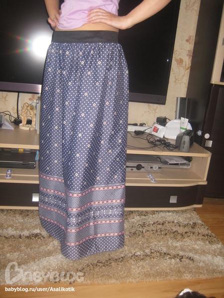 шить юбка в пол быстро: