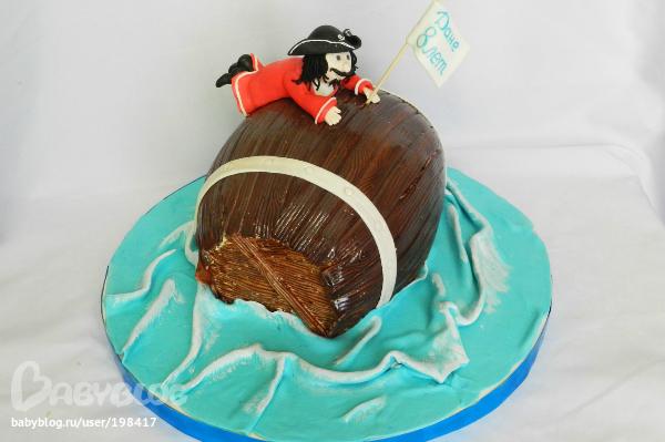пиратские торты с фото