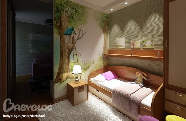 Дизайн комнат в п44т