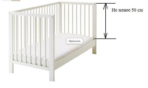 кроватка сундвик инструкция - фото 6