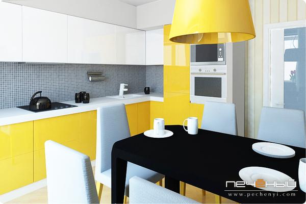 Желтая кухня - кухня венге с желтым - запись пользователя ол.