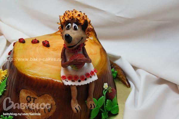 Рецепт торта Ежик с фото 55