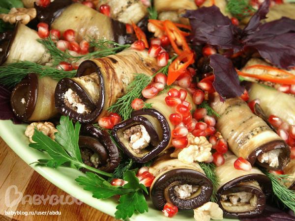 закуска баклажанов рецепты с фото