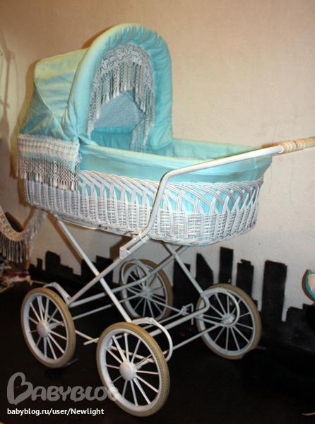 Как обновить старую детскую коляску своими руками