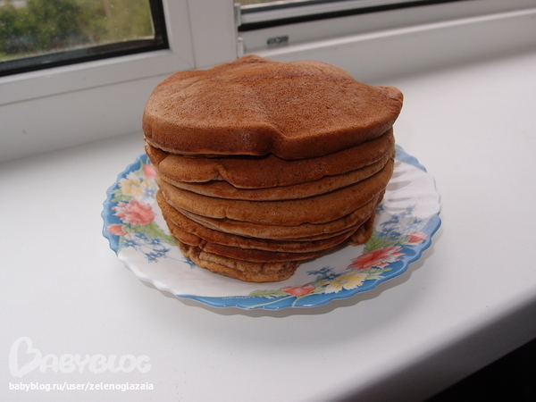 Шоколадные панкейки: рецепт с пошаговым фото