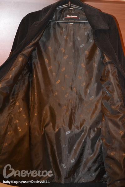 Мужское Вельветовое Пальто