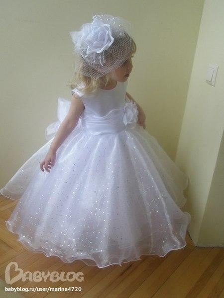 Платье снежинки фото своими руками
