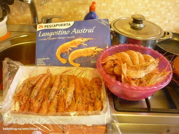 лангустины в духовке рецепт с фото