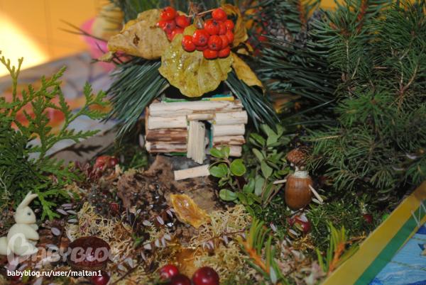 Осенние поделки в школу 1 класс из природного материала