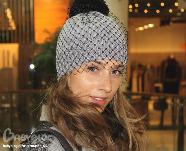 шапочка с вуалью фото