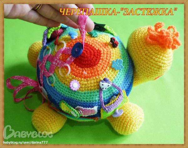 Вязание игрушек для детей