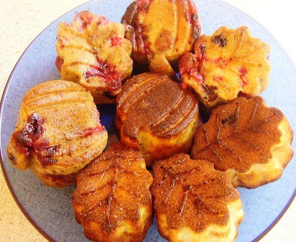 кексы с вареньем в духовке рецепты