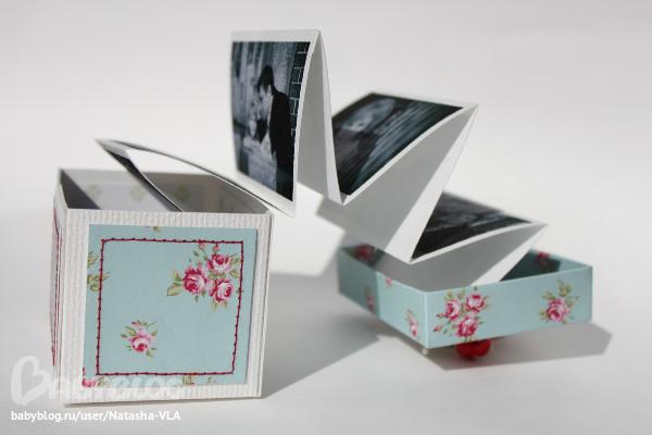 Коробочки для фото своими руками