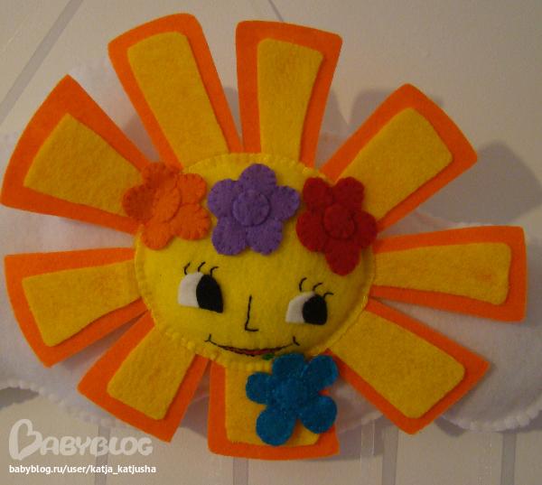 Солнце своими руками схема 599