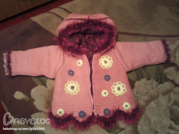 Вязание курточка для девочки 149