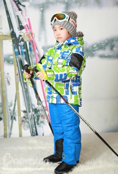 женский костюм для лыжного спорта