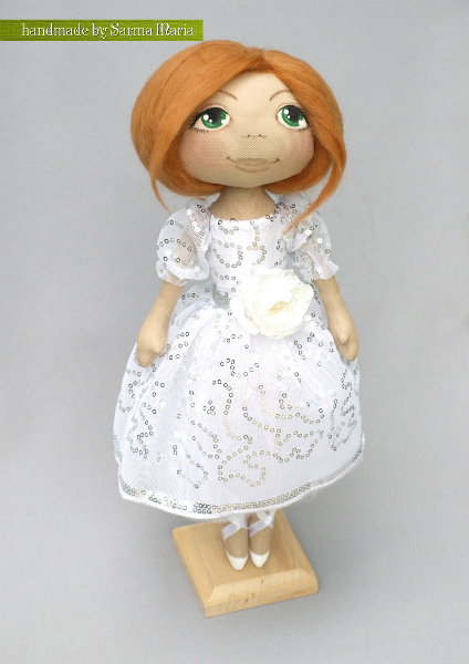 Кукла Снежка мастер класс, как 38