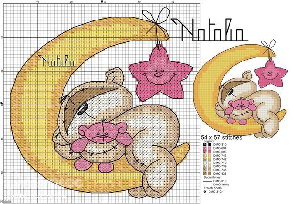 Схемы вышивок к рождения