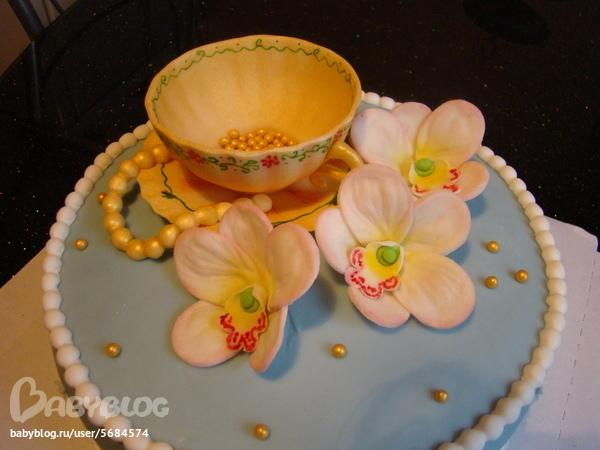 Бисквитный быстрый торт фото 2