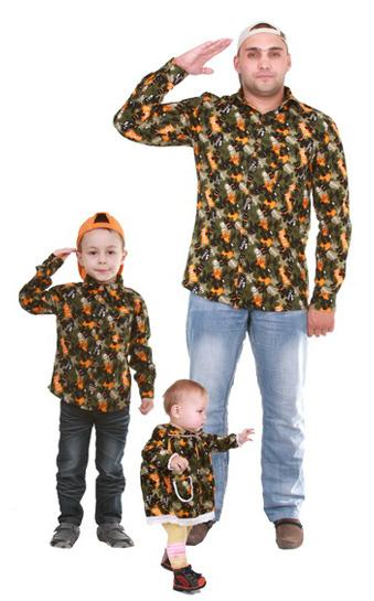 Одежда для ребенка на отца