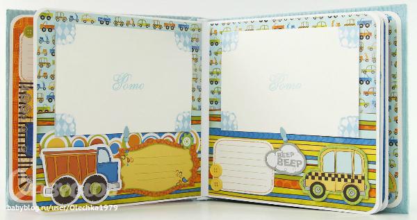 На каждую страницу альбома поместили по 3 открытки 45