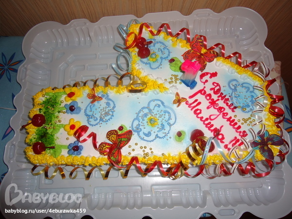 Ульяновск провинциалочка фото тортов 1 годик