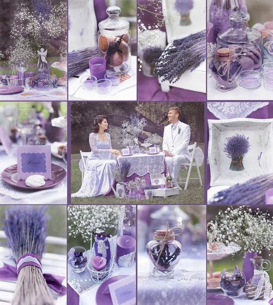 Лаванда на свадьбу