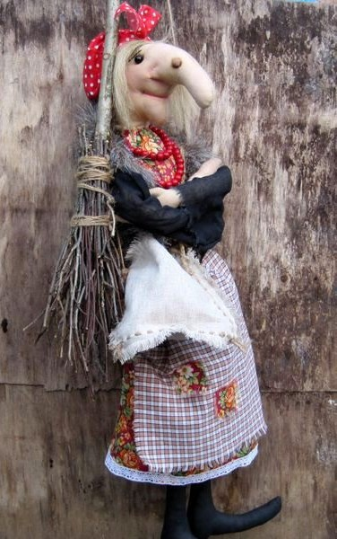 Кукла на чайник своими руками из капрона