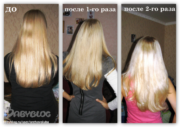 Как осветлить волосы в домашних условиях для темных волос