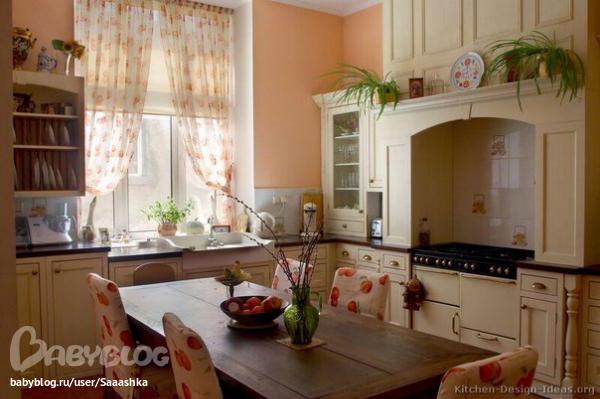 Как красиво и уютно сделать кухню