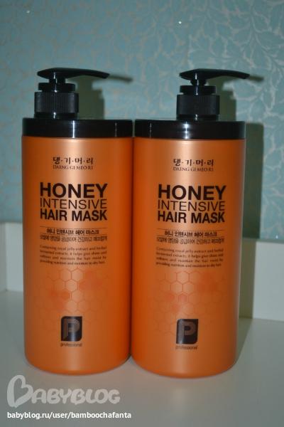 Корейские маски для волос