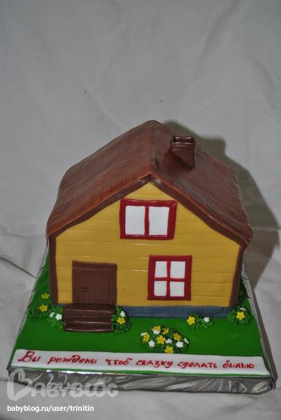 Как сделать дом из мастики 228