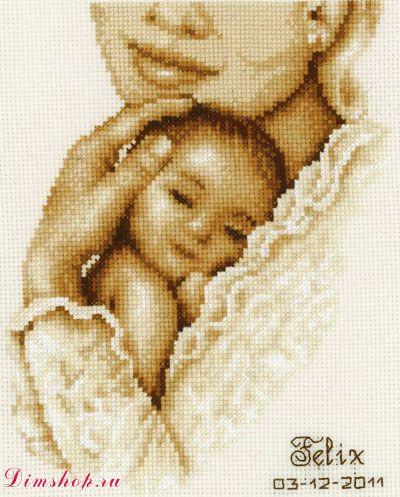 """11 Vervaco """"Мать и дитя"""""""