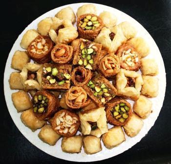 Восточные сладости из слоеного теста
