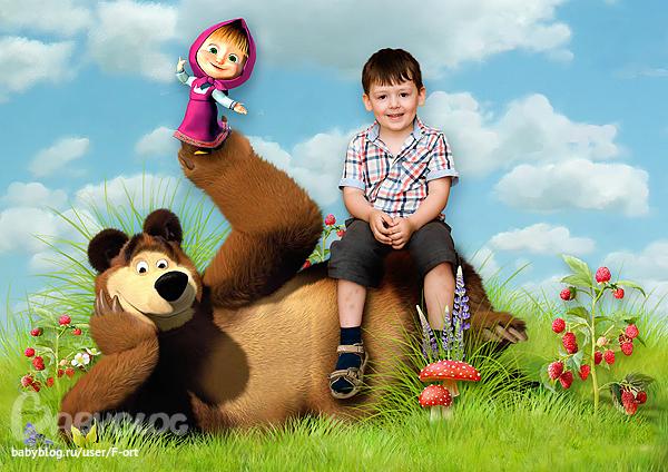 Скрап маша и медведь