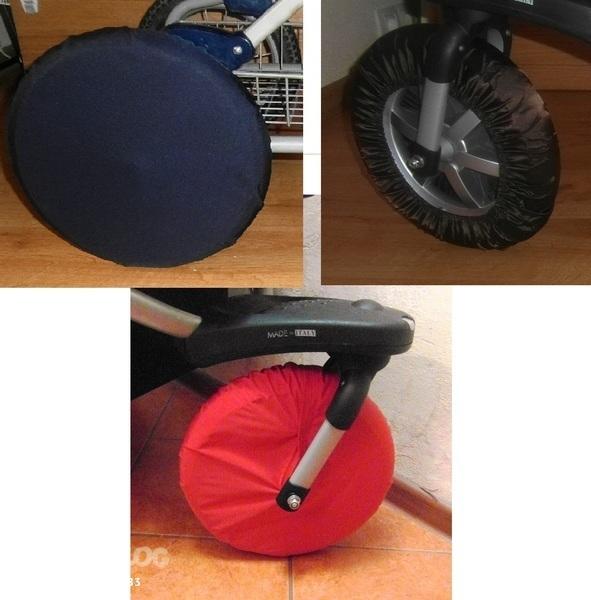 Чехол для колес для коляски своими руками